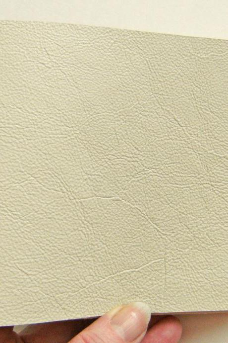 Gold & Cream Leather Journal