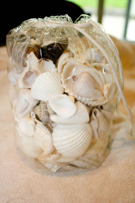Bag of White Assorted Seashells