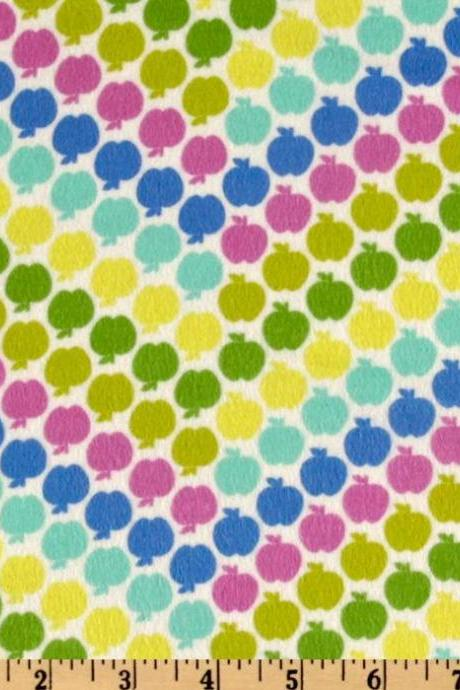 Baby Girl Rainbow Apples Fitted Crib Sheet