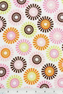 Baby Girl Flower Fitted Crib Sheet
