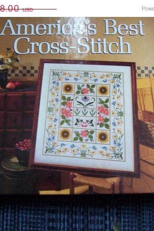 ON SALE Better Homes and Gardens America's Best Cross Stitch Pattern Book