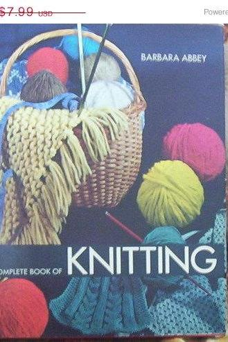 ON SALE The Complete Book of Knitting by Barbara Abbey