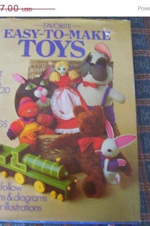 ON SALE Favorite Easy to Make Toys Pattern Book