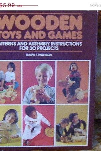 ON SALE Wooden Toys and Games book by Ralph F. Parkison