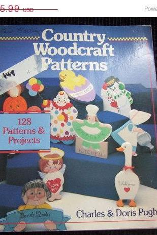 ON SALE Country Woodcraft Patterns Book by Charles and Doris Pugh