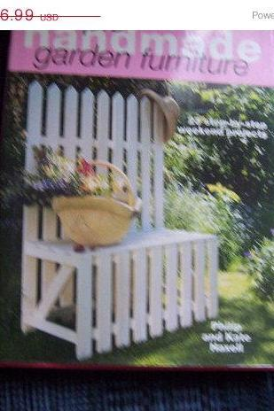 ON SALE Simple Handmade Garden Furniture Book