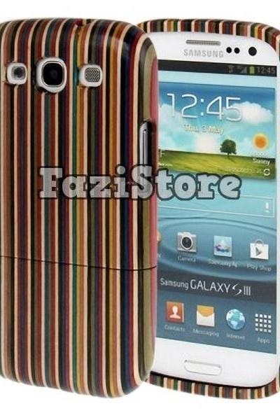 Bamboo Phone Case, Samsung Galaxy S3 Case, Samsung Galaxy S III Case, Galaxy S3 Case, Stripe Phone Case