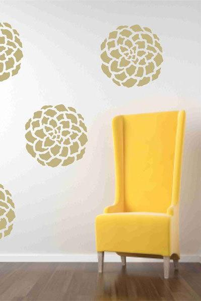 Flower Blooms for your Walls - Vinyl Decals