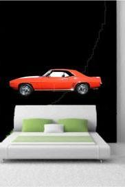 1969 Chevrolet Camaro Z-28 - Wall Vinyl Decals/Stickers