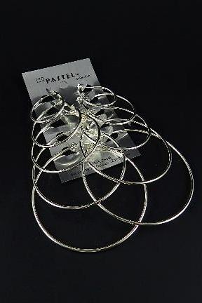 Silver Hoops Multi Pack