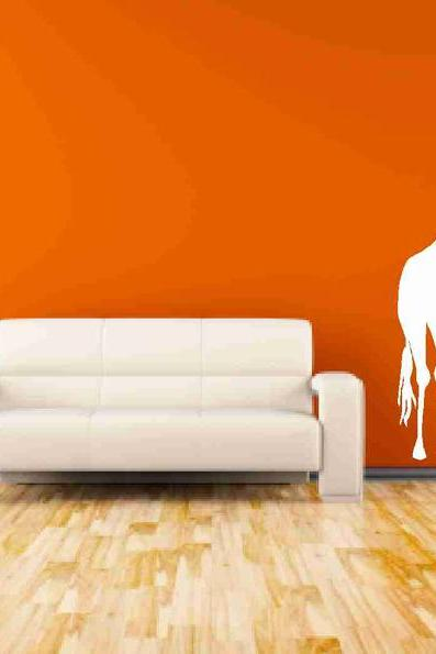 Tall Giraffe Vinyl Decals Nursery Decor