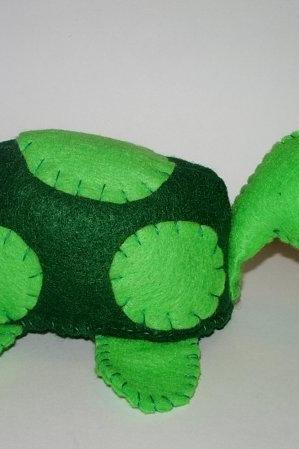 Green Turtle Plushie