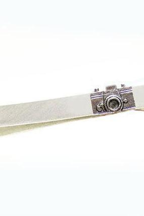 Camera Tie Clip Bar Men Father Unisex engraved Gift wedding Birthday boyfriend husband