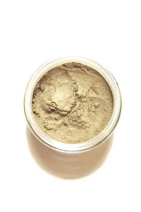 Honey - Gold Metallic Shimmer Vegan Mineral Eyeshadow - Handcrafted Makeup