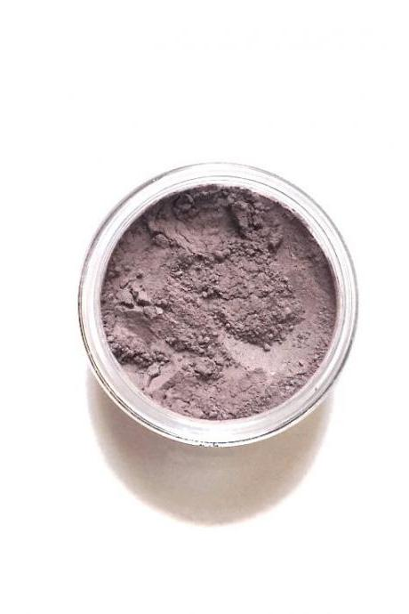 Vegan Mineral Eyeshadow // Moth // Taupe with Plum Undertones Mineral Eye Shadow