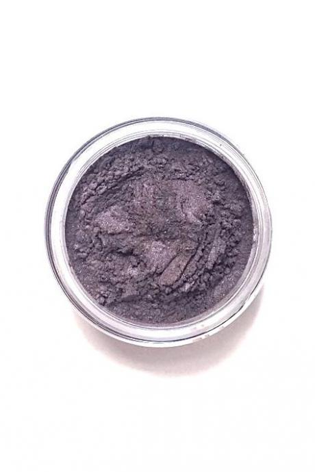 Plum - Dusty Amethyst Purple Mineral Eyeshadow - Handcrafted Makeup