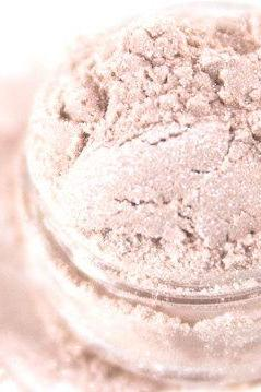 Petal - Pale High Shimmer Pink Vegan Mineral Eyeshadow - Handcrafted Makeup