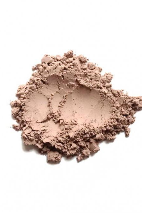 Beach - Light Neutral Matte Mineral Bronzer for Light Skintones - Handcrafted Makeup