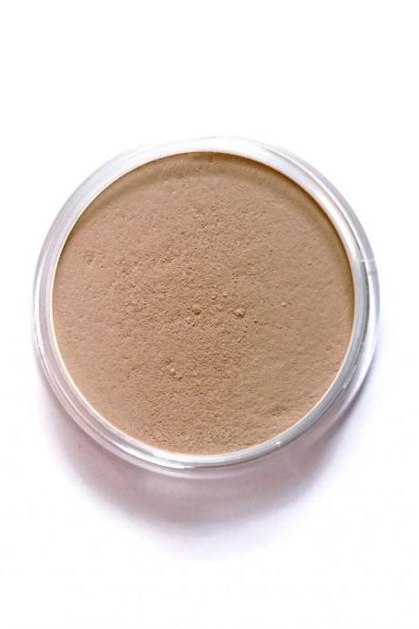 Vegan Mineral Foundation // Caramel // Medium Golden Warm
