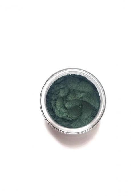 Emerald - Deep Green - Vegan Mineral Eyeliner/Eyeshadow - Handcrafted Makeup