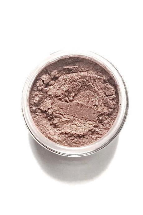 Rose Gold - Vegan Mineral Eyeshadow - metallic rose gold Handcrafted Makeup