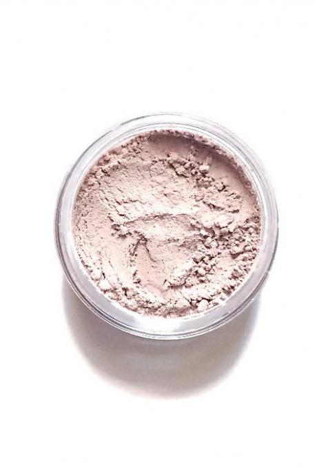 Wheat - Cream with Pink Cool Tones - Mineral Eyeshadow - Handcrafted Makeup