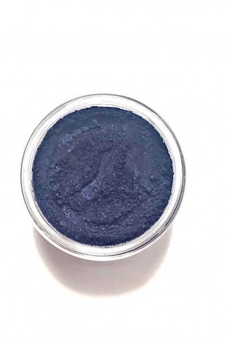 Eggplant - Deep Purple with Blue Tones Vegan Mineral Eyeliner/Eyeshadow - Handcrafted Makeup