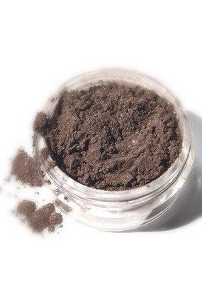 Toffee - Medium Brown Shimmer Vegan Mineral Eyeshadow - Handcrafted Makeup