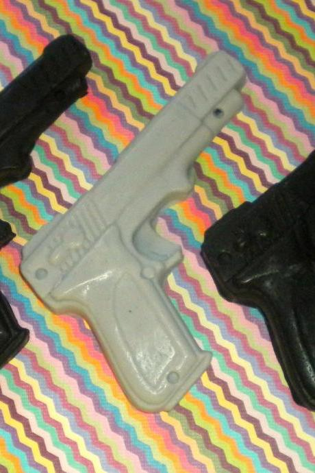 Gun Soap - Gift for Man - Dad - Party Favors, Guy Soap, Gift for Man