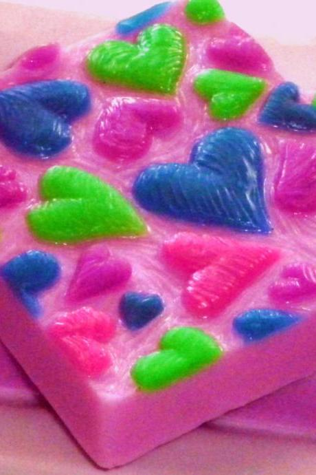Soap - Hearts - LIMITED EDITION - Weddings - Heart Soap