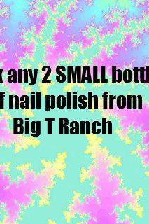Pick ANY 2 SMALL SIZE Bottles Nail Polish - Custom Blended Glitter Color Changing Nail Polish Lacquer - 8ml Small Sized Bottle