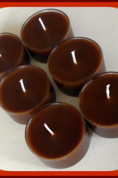 Tealight Candles - Set of 6 - Gingerbread and Spice