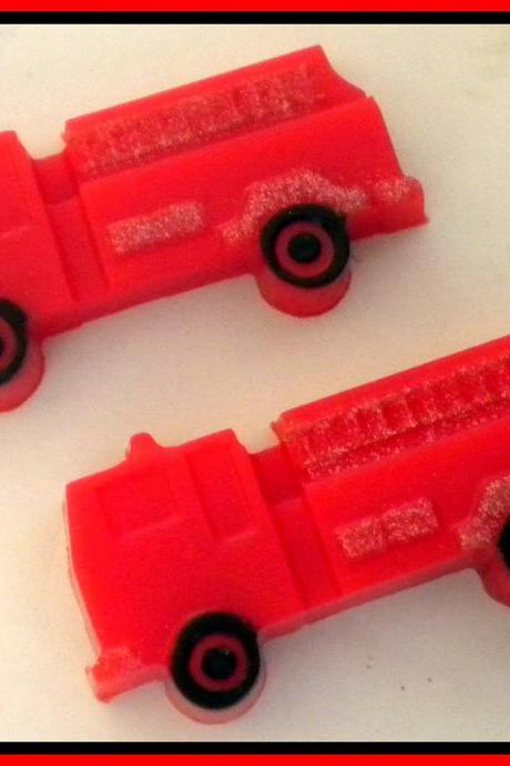 Soap - Fire Truck - Fireman - Truck- Party Favors - Soap for Boys