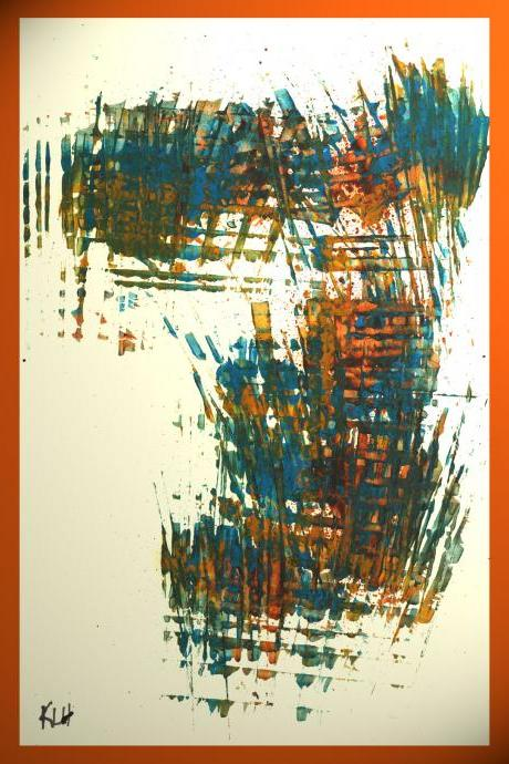Abstract Expressionism To The Max!!!! Modern Abstrct Painting,, Original Art,, 700.112411