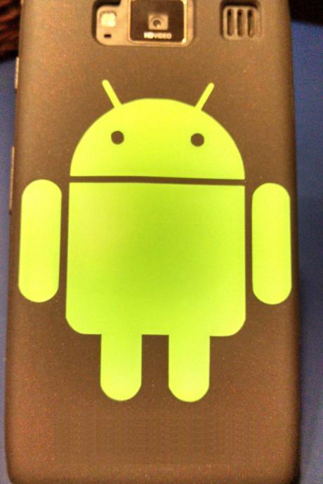 Android Robot Phone or Tablet Decal