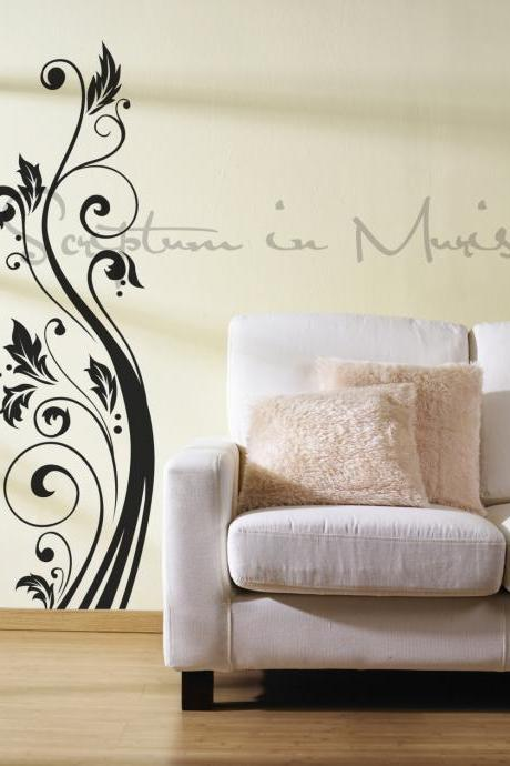 Wall Accent Scrolls Decal