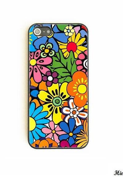 Paisly Flower Hardshell case for iphone 5 5s