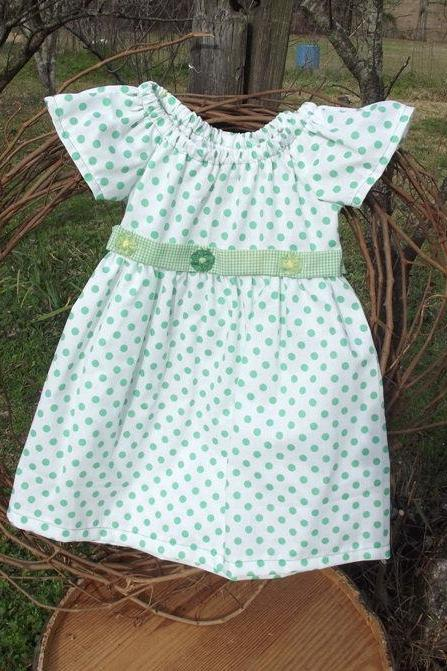 Toddler peasant dress in a size 2 , spring