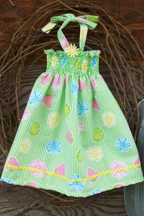 Girls halter sundress size 2, twirl (3,4,5)spring/summer