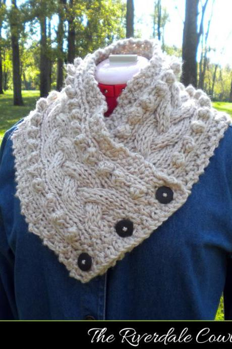 The Riverdale Cowl Knitting Pattern