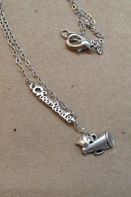 Love Cheerleading Necklace