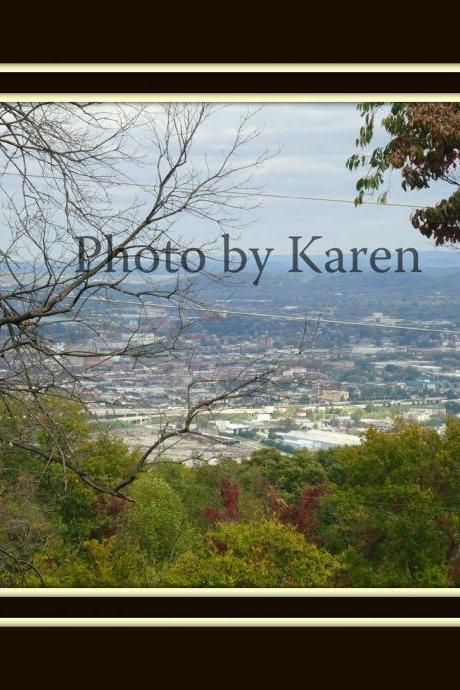 Chattanooga View 5 x 7 Original Photograph, other sizes available