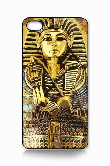 Custom iPhone 4 case, iPhone 5 case, Samsung galaxy case, Samsung Galaxy s3 , Samsung Galaxy s4 case king tutankhamun Egypt