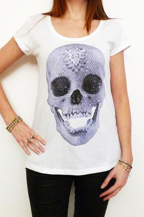 DIAMOND SKULL:WOMEN'S TUNIC CELEBRITY STAR ONE IN THE CITY 7015267