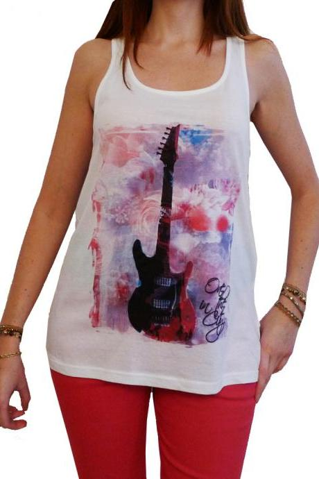 GUITAR:WOMEN'S TUNIC CELEBRITY STAR ONE IN THE CITY 7015261