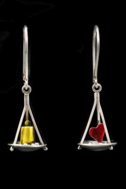 Scale Earrings