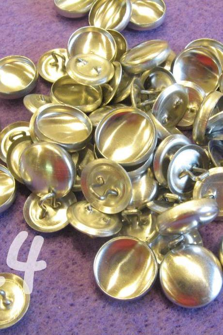 50 Covered Buttons - 5/8 inch - Size 24