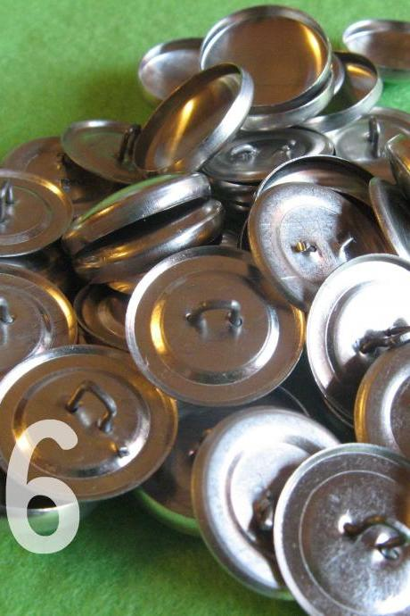 50 Covered Buttons - 7/8 inch - Size 36