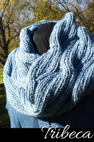 The Tribeca Cowl Knitting Pattern