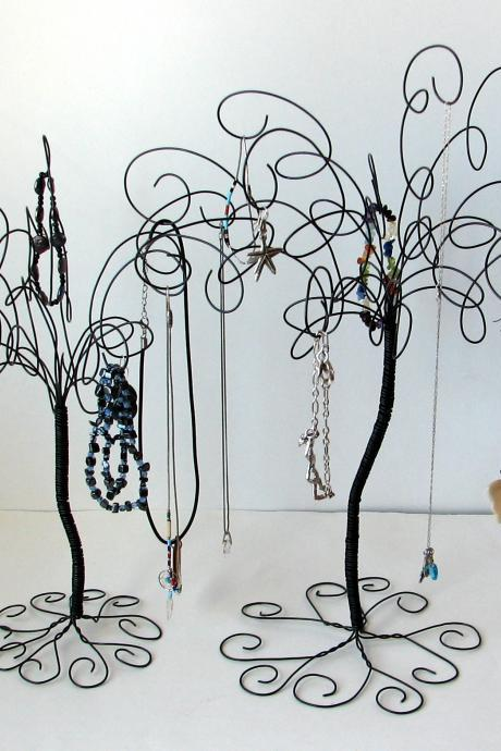 2 Jewelry Stands , Earring, Rings,Bracelets, Organizer, Display